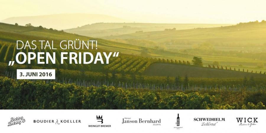 Open Friday – Im Zellertal/Pfalz